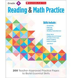 Reading  Math Practice: Grade 6