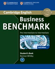 Business Benchmark Second edition Pre-intermediate-Intermediate BULATS Student's Book