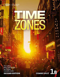 Time Zones 2e Level 1 Combo Split 1b With Online Workbook