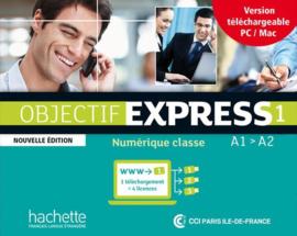 Objectif Express 1 A1/A2 - Carte numérique classe