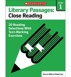 Literary Passages: Close Reading: Grade 1