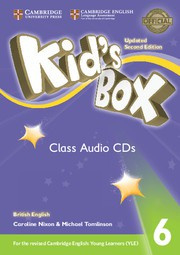 Kid's Box Updated Second edition Level6 Class Audio CDs (4)
