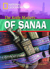 Footprint Reading Library 1000: Knife Markets Of Sanaa Book With Multi-rom (x1)