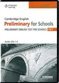 Cambridge PET For Schools Practice Tests Cds