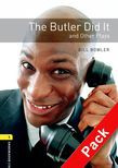Oxford Bookworms Library Level 1: The Butler Did It And Other Plays Audio Cd Pack