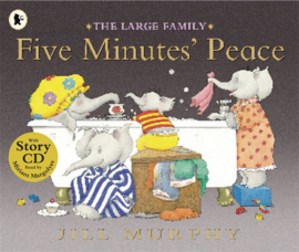 Five Minutes' Peace Paperback With Cd (Jill Murphy)