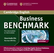 Business Benchmark Second edition Pre-intermediate-Intermediate Business Preliminary Class Audio CDs (2)