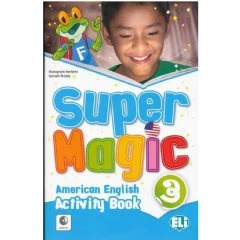 Super Magic 3 Activity Book + Audio Cd