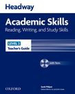Headway Academic Skills 2 Reading, Writing, And Study Skills Teacher's Guide With Tests Cd-rom