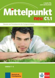 Mittelpunkt neu C1.1 2 Audio-CDs bij het Lehrbuch Les 1-6