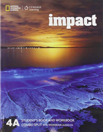 Impact 4 Student Book + Workbook Combo Split A