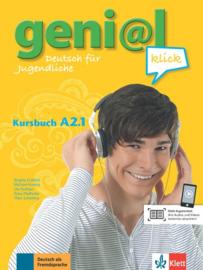geni@l klick A2.1 Studentenboek met Audio- bij de Download