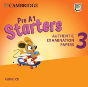 Cambridge English Young Learners 3 Starters Audio CDs (2)