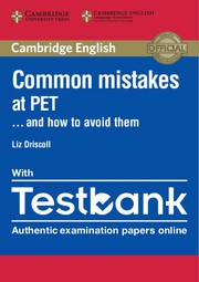 Common Mistakes at PET ... and how to avoid them Paperback with Testbank