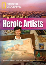Footprint Reading Library 3000: Afghanistan's Heroic Artists Book With Multi-rom (x1)