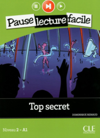 Top secret - Niveau 2-A1 - Pause lecture facile - Livre + CD