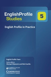 English Profile in Practice Paperback