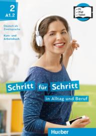 Schritt für Schritt in Alltag und Beruf 2 – Digitaal Studentenboek en Werkboek