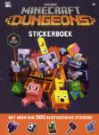 Minecraft - Dungeons Stickerboek (Paperback / softback)