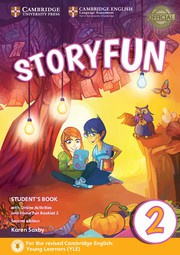 Storyfun for Starters, Movers and Flyers Second edition 2 Student's Book with online activities and Home Fun booklet