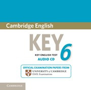 Cambridge English Key 6 Audio CD