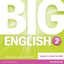 Big English Level 2 Digiboardsoftware (Teacher's eText)