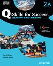 Q Skills For Success Level 2 Reading & Writing Split Student Book A With Iq Online