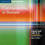 Communicating in Business Second edition Audio CDs (2)