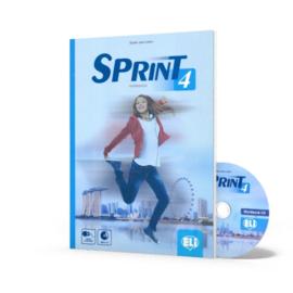 Sprint 4 - Teacher's Book + 2 Class Audio Cds +tests & Resources + Test Maker Multi-rom