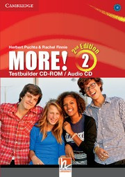 More! Second edition Level2 Testbuilder CD-ROM/Audio CD