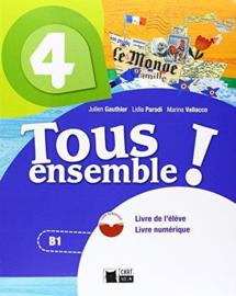 Livre de l'élève 4 + Cahier d'exercices 4 + CD audio + Livre Numérique 4
