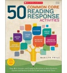 50 Common Core Reading Response Activities