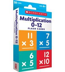 Flash Cards: Multiplication 0 - 12