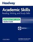 Headway Academic Skills Introductory Reading, Writing, And Study Skills Teacher's Guide With Tests Cd-rom