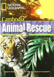 Footprint Reading Library 1300: Cambodia Animal Rescue Book With Multi-rom (x1)