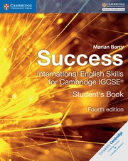 Success International English Skills for IGCSE® Fourth Edition Student's Book