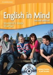 English in Mind Second edition StarterLevel Student's Book with DVD-ROM