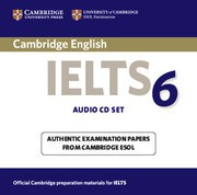 Cambridge IELTS 6 Audio CDs (2)