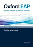 Oxford Eap Upper-intermediate/b2 Teacher's Book, Dvd And Audio Cd Pack