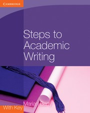Steps to Academic Writing Coursebook
