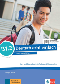 Deutsch echt einfach B1.2 Studentenboek en Oefenboek met Audio en Video online