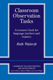 Classroom Observation Tasks Paperback