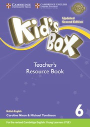 Kid's Box Updated Second edition Level6 Teacher's Resource Book with Online Audio