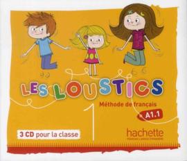 Les Loustics 1 A1.1 - Méthode de français audio-cd