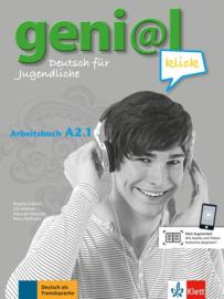 geni@l klick A2.1 Werkboek met Audio- bij de Download