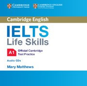 IELTS Life Skills Official Cambridge Test Practice A1 Audio CD
