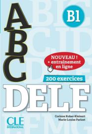 ABC DELF - Niveau B1 - Livre + CD + Entrainement en ligne