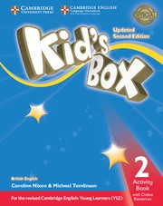 Kid's Box Updated Second edition Level2 Activity Book with Online Resources