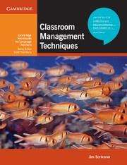 Classroom Management Techniques Paperback