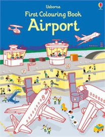 First colouring book: Airport
